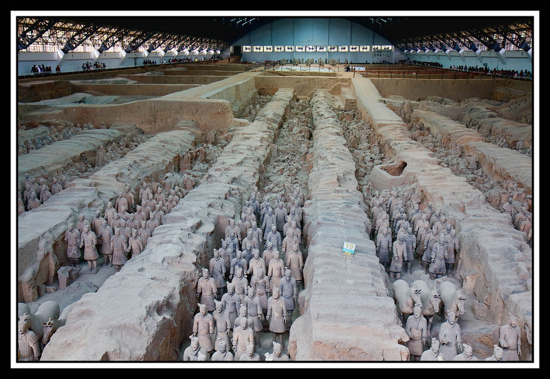 Terracotta Warriors and Horses... Pit Number One...