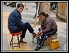 Shoeshine...