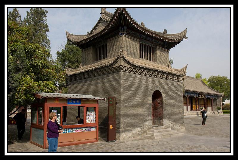 Judy at Pagoda grounds...