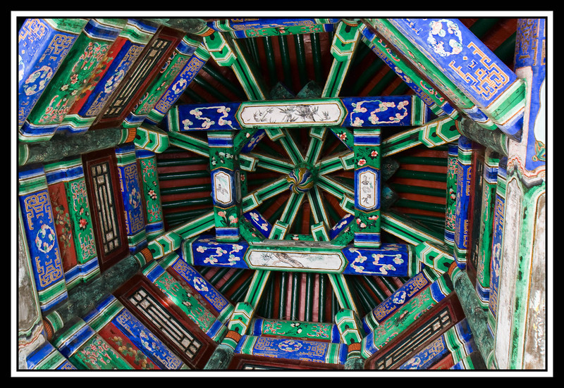 Ceiling detail Summer Palace...