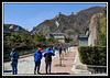 Walking up to Great Wall...