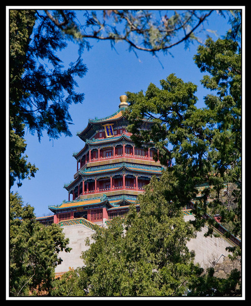 Pagoda at Summer Palace...