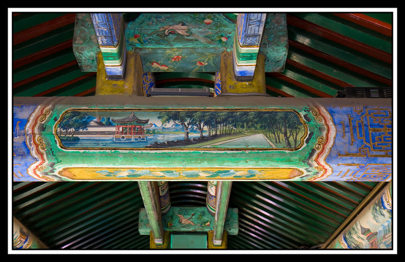 Beam painting Summer Palace...