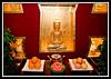 Entry of Buddist restaurant...