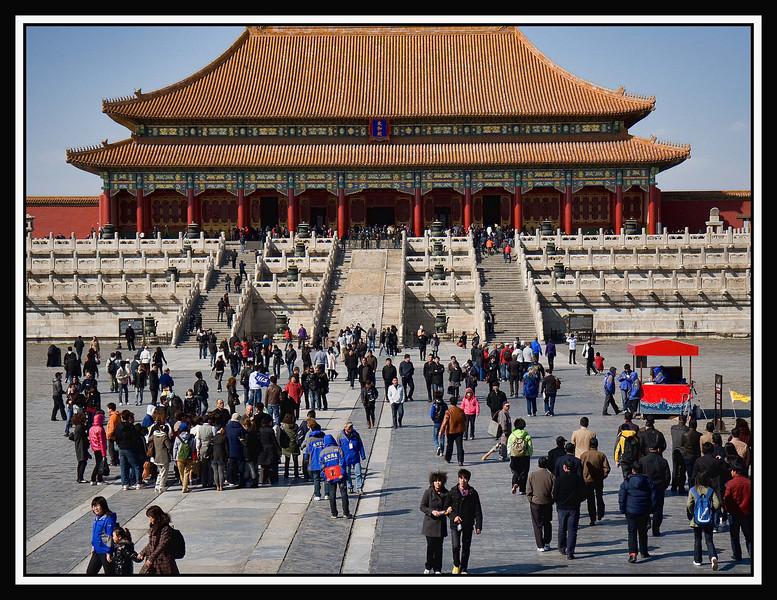 Courtyard of Hall of Supreme Harmony...