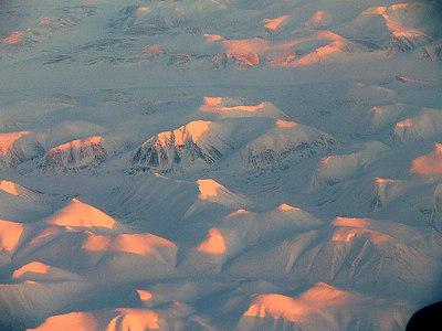 Aerial Scenes From China Return Flight 3/11/07