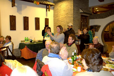 China - Monday, 3/5/2007 'Reception' (& Birthday) Dinner