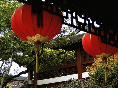 China. Old Shanghai. Yuyuan Garden. Lanterns.