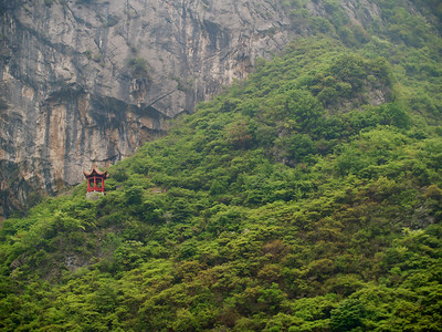 China. Scenes from the Yangtze river. Three Gorges.