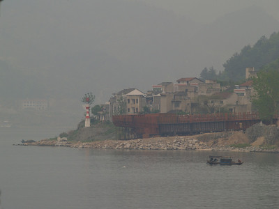 China. Scenes from the Yangtze river.