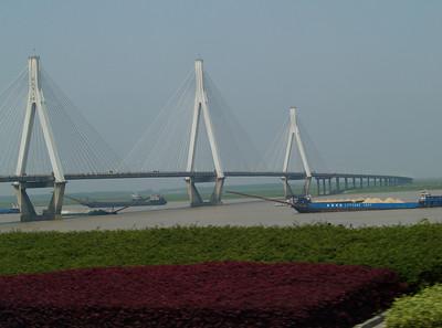 China. Shanghai. Bridge.