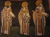 The three hierarchs of the early church, Basil, Gregory, and Chrysostom
