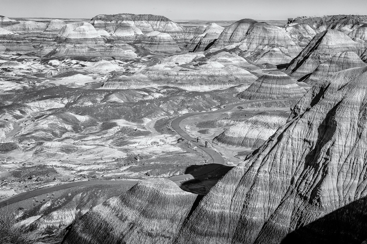 BLUE MESA TRAIL-PETRIFIED FOREST N.P.