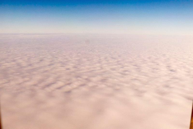 After spending the night in Winnipeg, we flew over a cloud deck that resembled a pillow top mattress on our way to Churchill, Manitoba, Canada, to see POLAR BEARS!