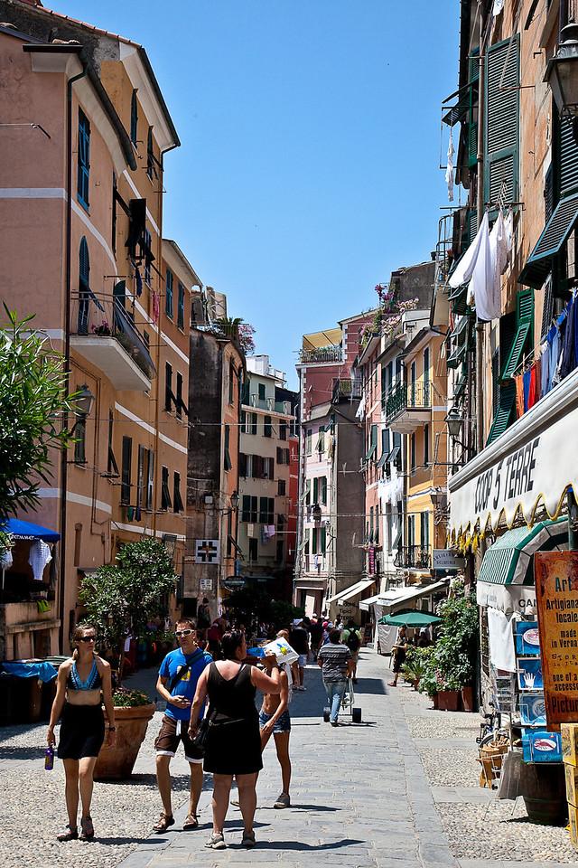 VIA ROMA, VERNAZZA'S LONE STREET
