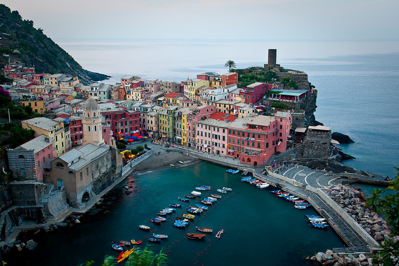 VERNAZZA AT TWILIGHT