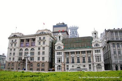 外灘的建築群 (攝於:上海)