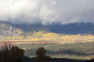 Driving back to Durango