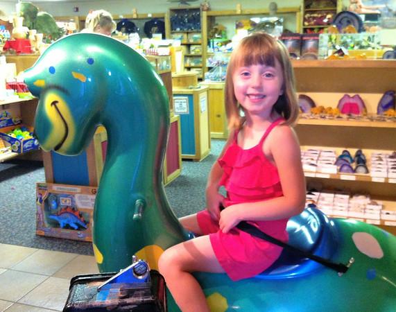 At the Fruita Dinosaur Museum