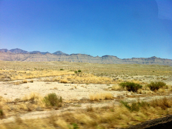On the way to Utah