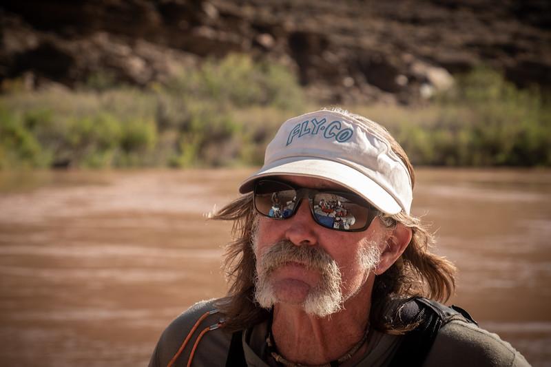RANDY TUCKER - HEAD RIVER GUIDE AND STORYTELLER