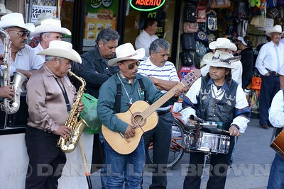 STREET MUSICIANS, CHIHUAHUA CITY
