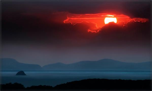 Opened Sunset