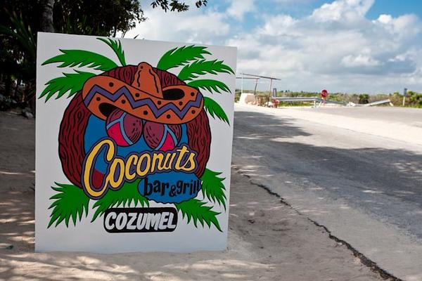 COCONUTS-COZUMEL, MEXICO