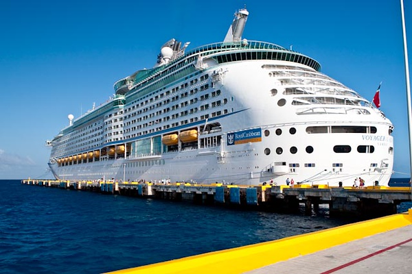 VOYAGER DOCKED IN COSTA MAYA, MEXICO