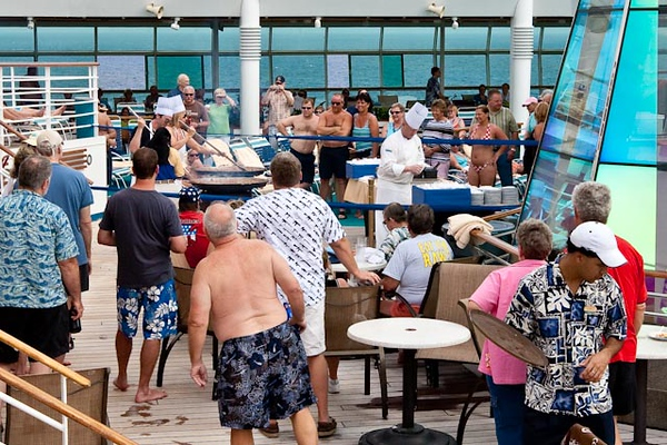 CHILI COOK-OFF ON THE POOL DECK