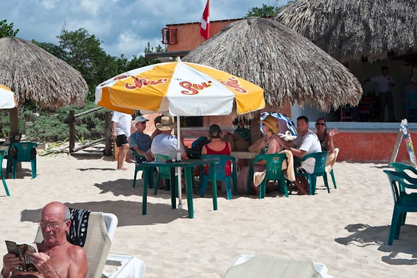 LUNCH AT MR. SANCHO'S BEACH