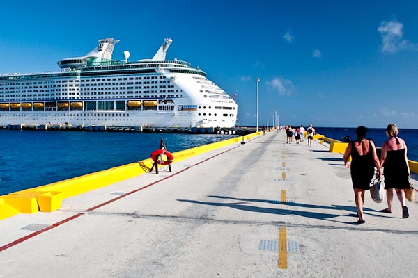RETURNING TO THE VOYAGER FROM COSTA MAYA, MEXICO