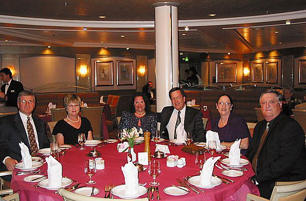 DINING PARTNERS ON THE RHAPSODY