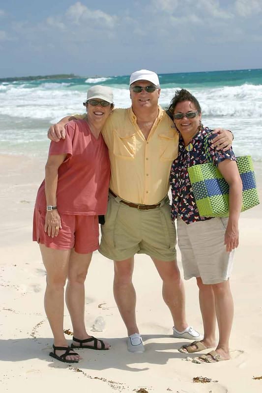 SHERRY, MIKE AND KIM-COZUMEL, MEXICO