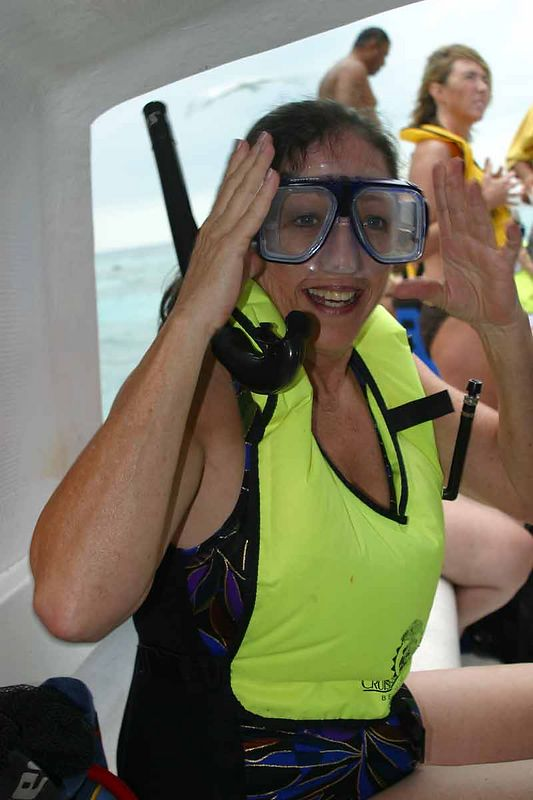SHERRY THE SNORKELER