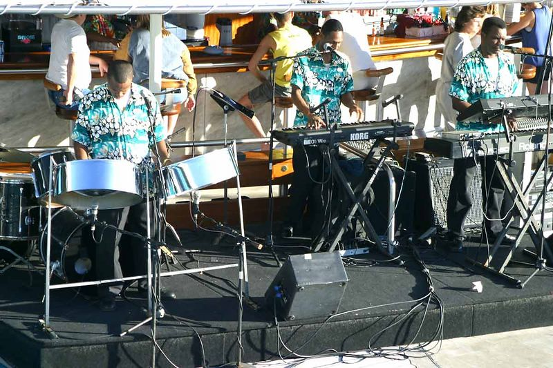 """HOT SANDS"" POOL STEEL DRUM BAND"
