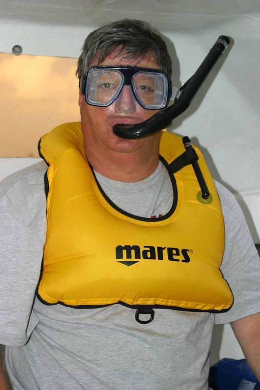 MIKE THE SNORKELER