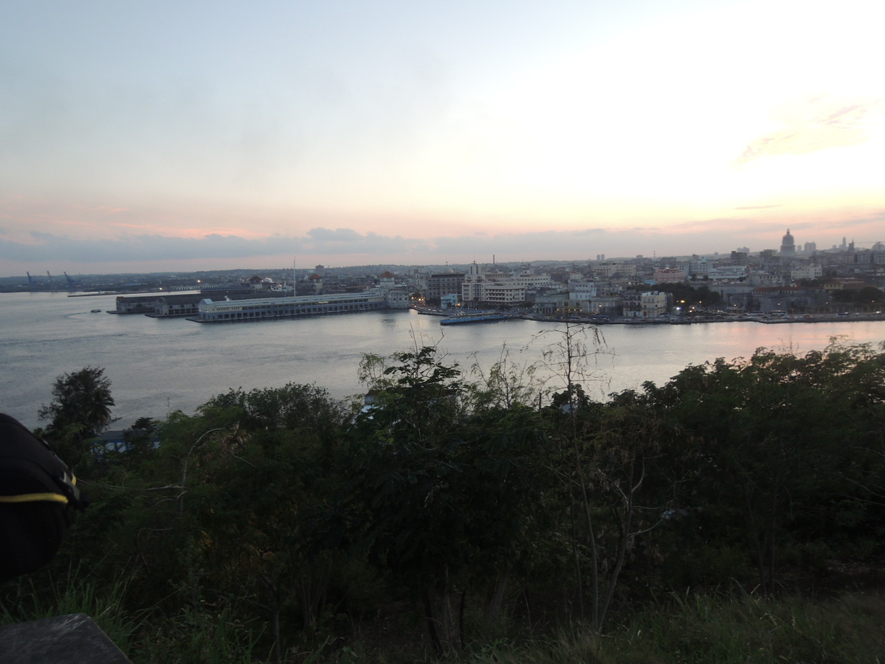 Downtown Havana across the harbor.  You can see why a major city grew here.