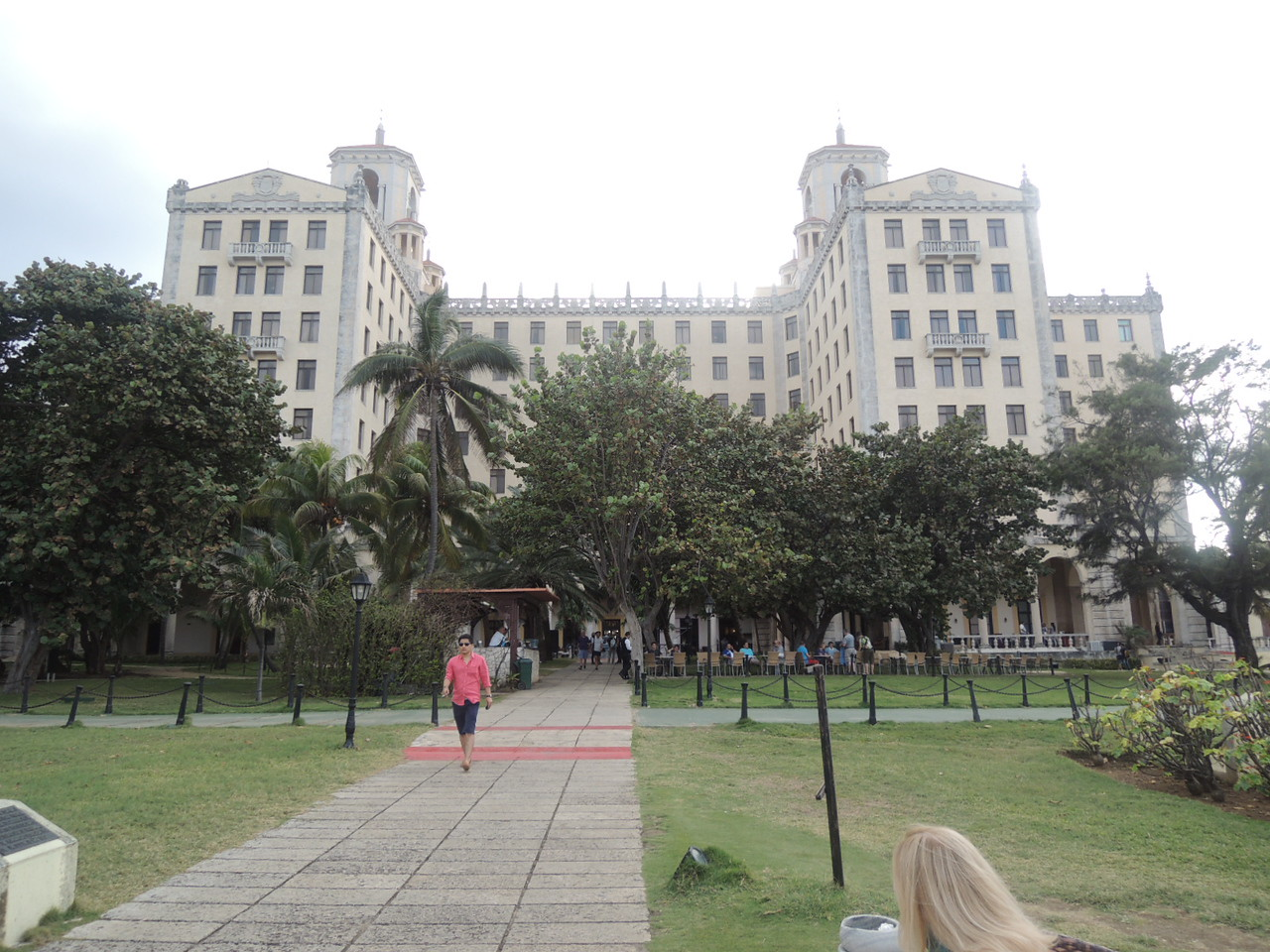 Looking back at the Hotel Nacional - quite a place.