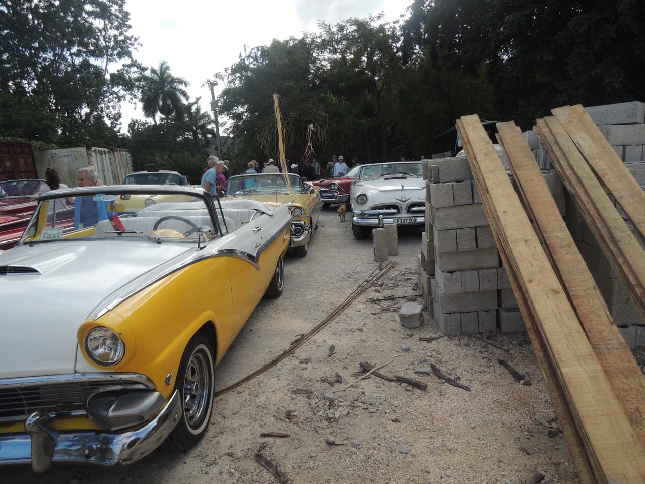 More convertibles.  A 55 Ford, a 58 Chevy, a 56 DeSoto.