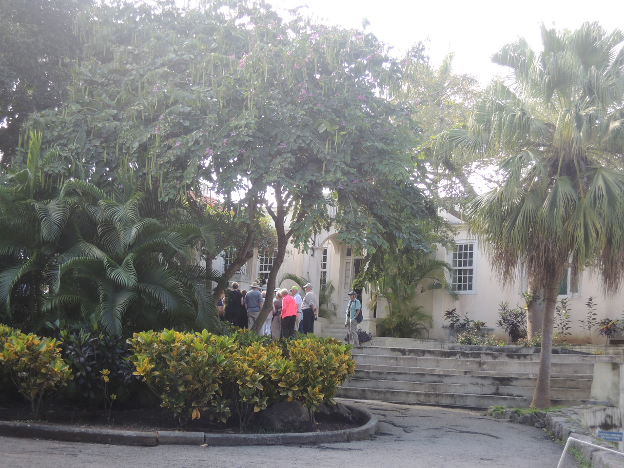 The Hemingway farm was a lovely place., on a hill overlooking Havana.
