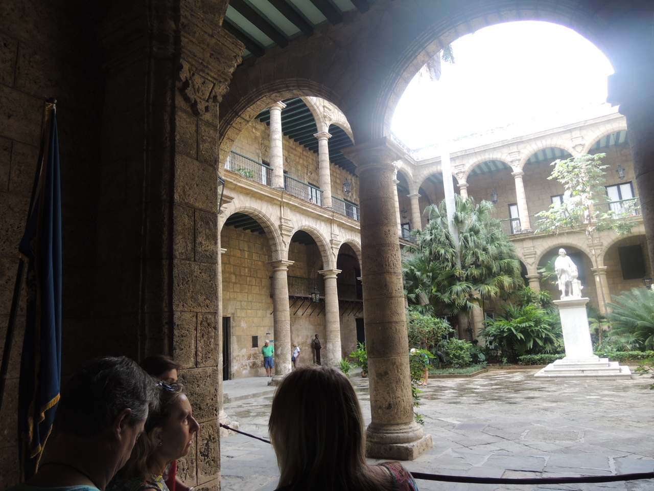 Another view of the courtyard.