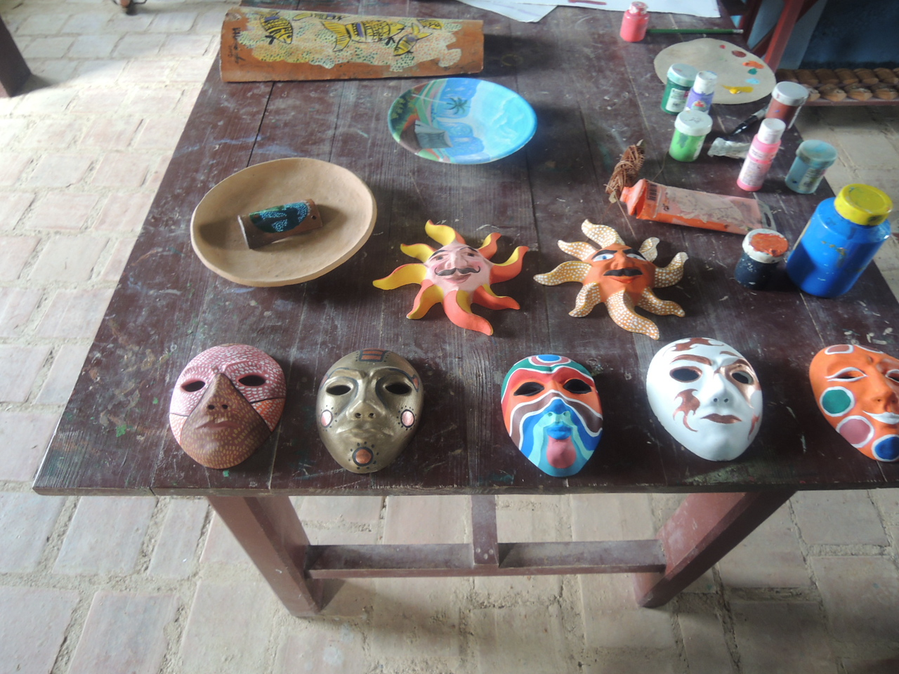 Masks, etc.