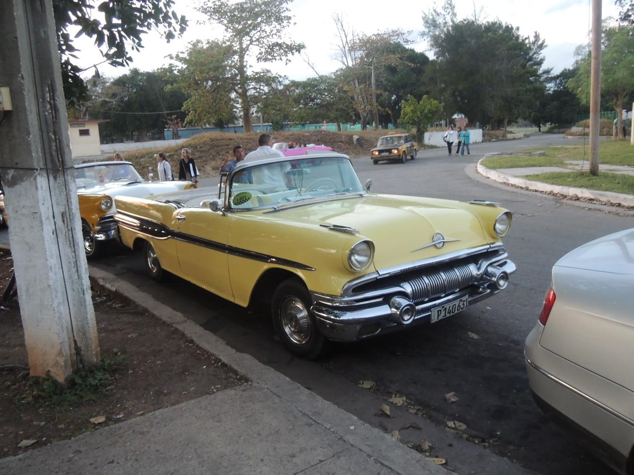 That's one pretty 57 Pontiac!