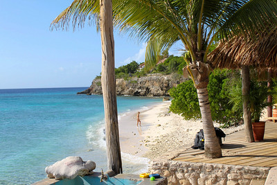 View of Kura Hulanda's Beach access & Ocean Encounters West - Westpunt, Curacao