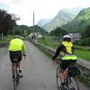Dave & Linda between Col d'Aubisque & Aspin-en-Lavedan.