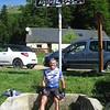 Werner at Col de Menté.