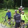 Werner, Wayne, Dave & Linda at Col de Marie-Blanque.