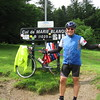Michael at Col de Marie-Blanque.