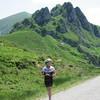 Linda near Col d'Agnes.